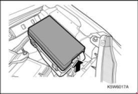 Схема предохранителей и реле Chevrolet Spark (M200/М250; 2005-2010)