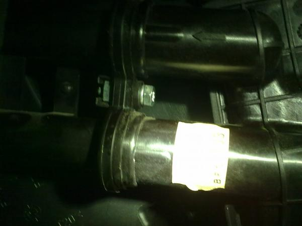 Leak from the pipes of the Chevrolet Aveo stove