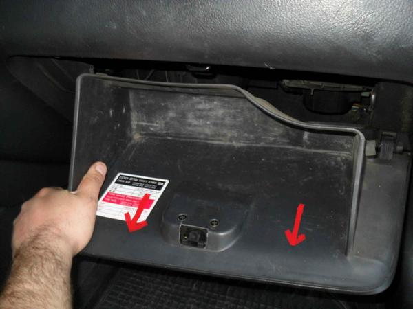 We shoot a glove compartment in a Chevrolet Aveo