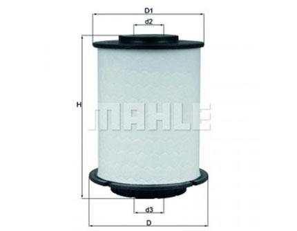 Топливный фильтр Mahle Original KX 404D