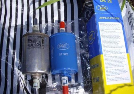 Замена топливного фильтра на Шевроле Кобальт