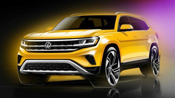 Volkswagen готовит кроссовер, который будет крупнее Teramont 2