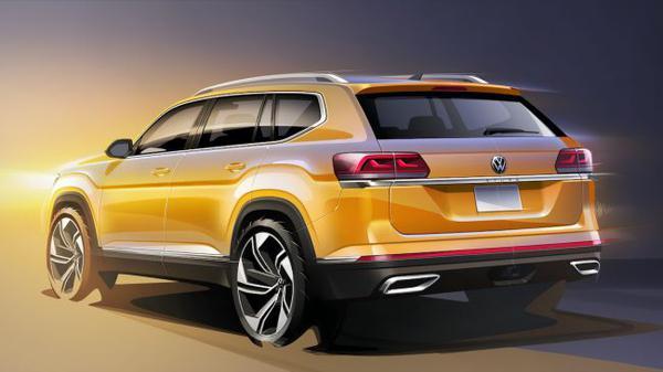 Volkswagen готовит кроссовер, который будет крупнее Teramont