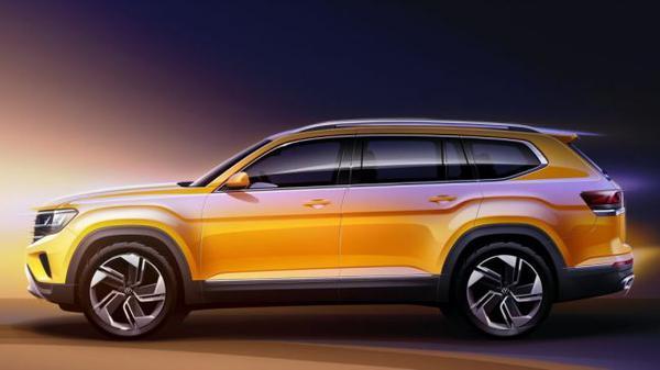 Volkswagen готовит кроссовер, который будет крупнее Teramont 3