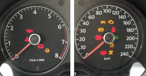 Как Посмотреть Температуру Двигателя На Фольксваген Поло