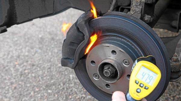 Нагревание колеса