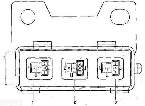 Схема блока предохранителей 3 Тойота Королла Е120