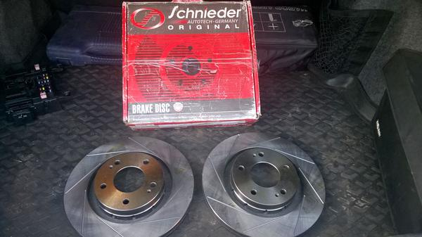 Тормозной диск Schneider Autotech