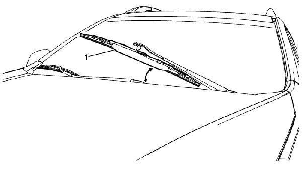 Условный чертеж дворников